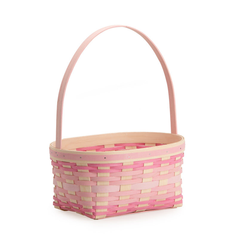 Large Pink Easter Basket Set with Free Protector