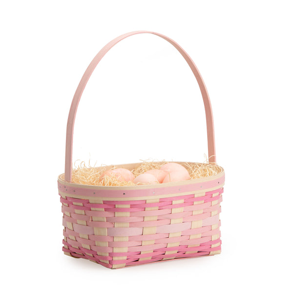 Large Pink Easter Basket Set