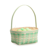 Large Jadeite Easter Basket Set