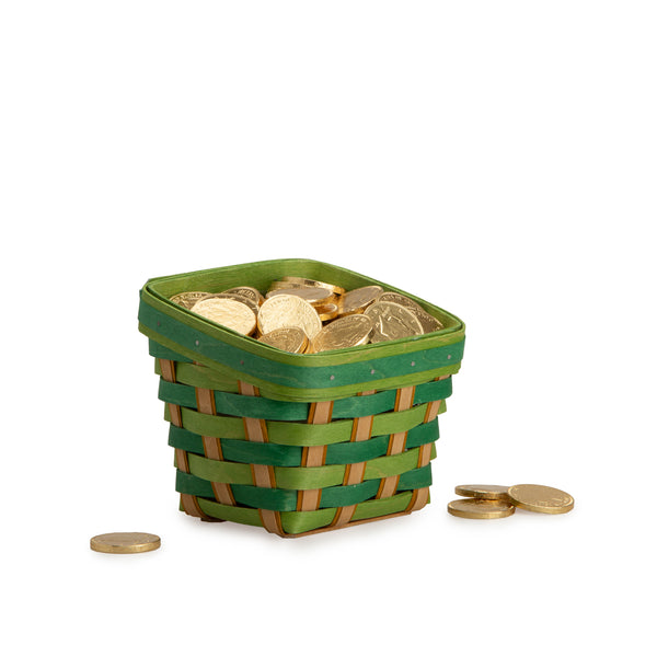 St. Patrick's Day Basket & Protector Set