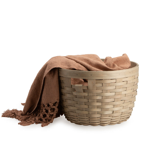 Light Brown Corn Basket