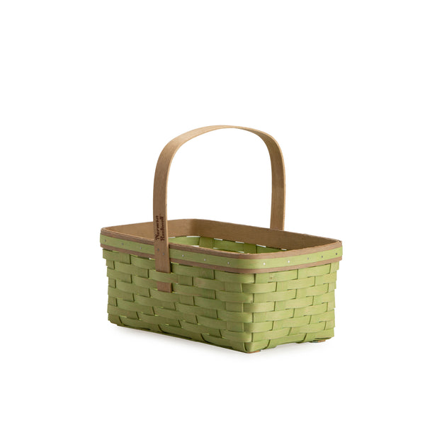 Sage Rectangle Mother's Day Basket Set with Free Protector