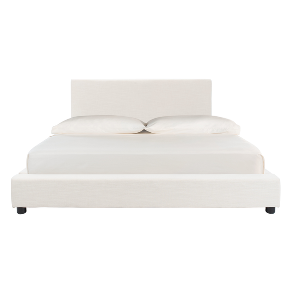 Light Beige Carter Queen Bed