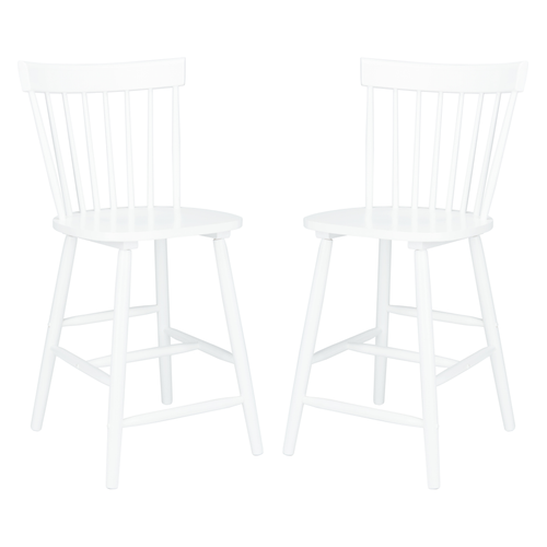 White Providence Counter Stool Set