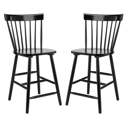 Black Providence Counter Stool Set