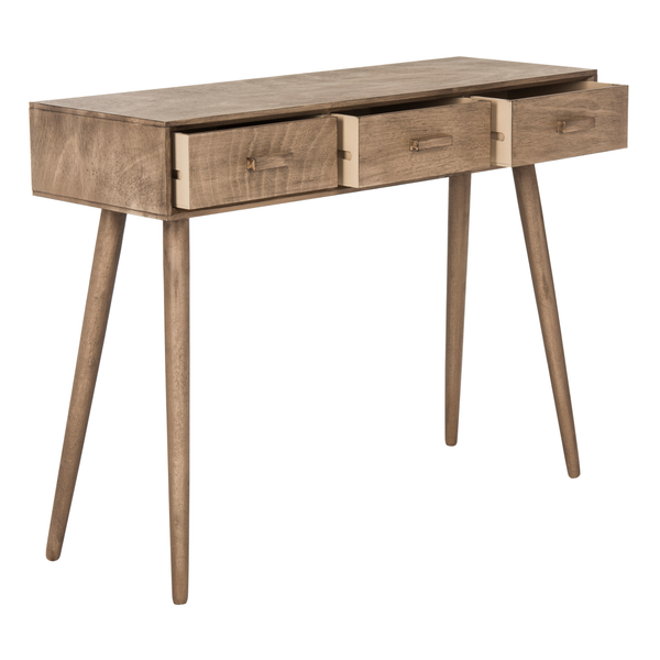 Desert Brown Albus Console Table
