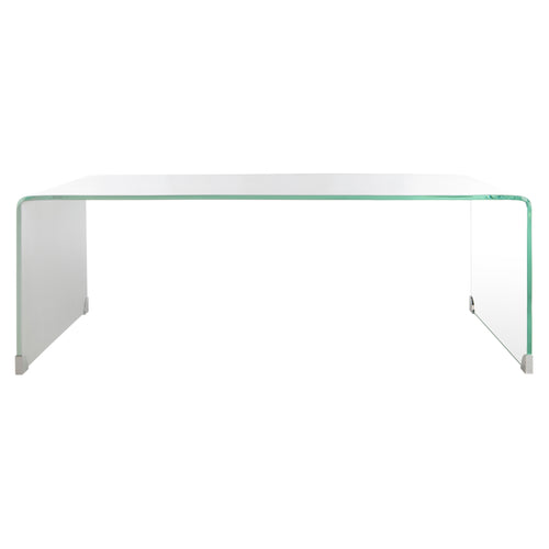 Crysta Ombre Glass Coffee Table