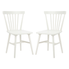 Off White Winona Spindle Dining Chair Set