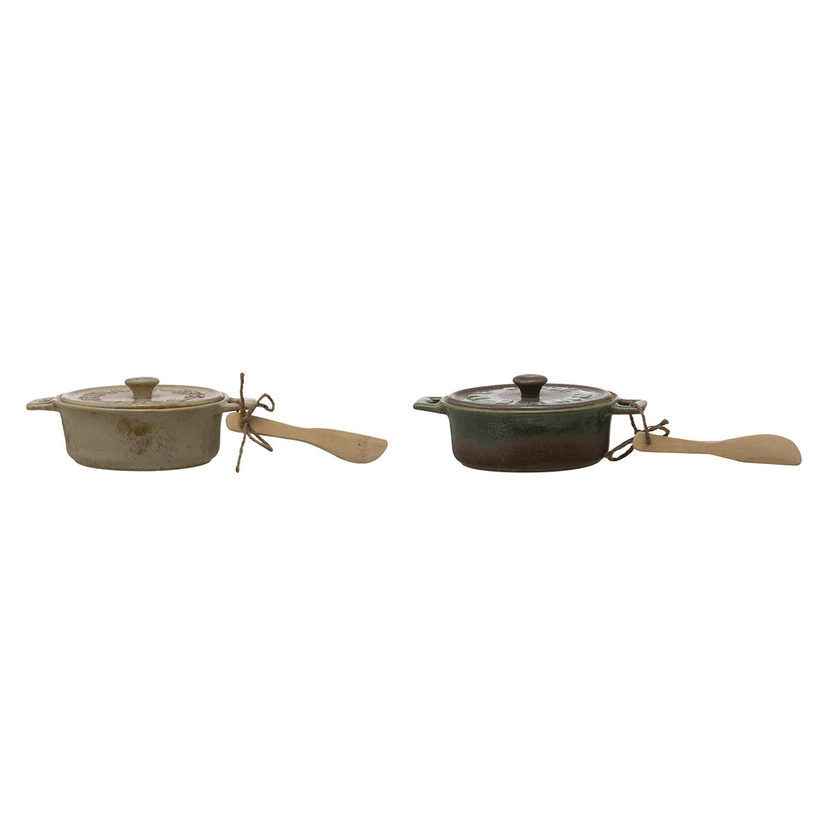 Small Stoneware Baker Set
