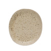 Small Sand Stoneware Plate