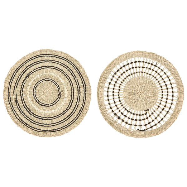 Hand-Woven Seagrass Placemat Set
