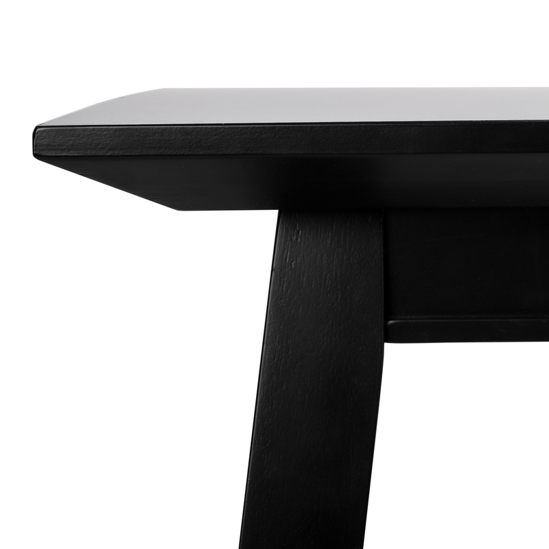 Black Brayson Rectangle Dining Table