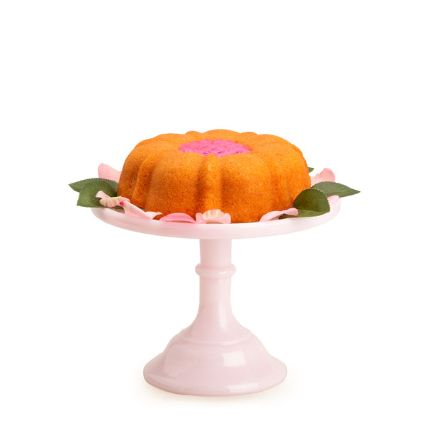 Large Pink Cake Stand