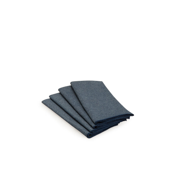 Blue Chambray Napkin Set