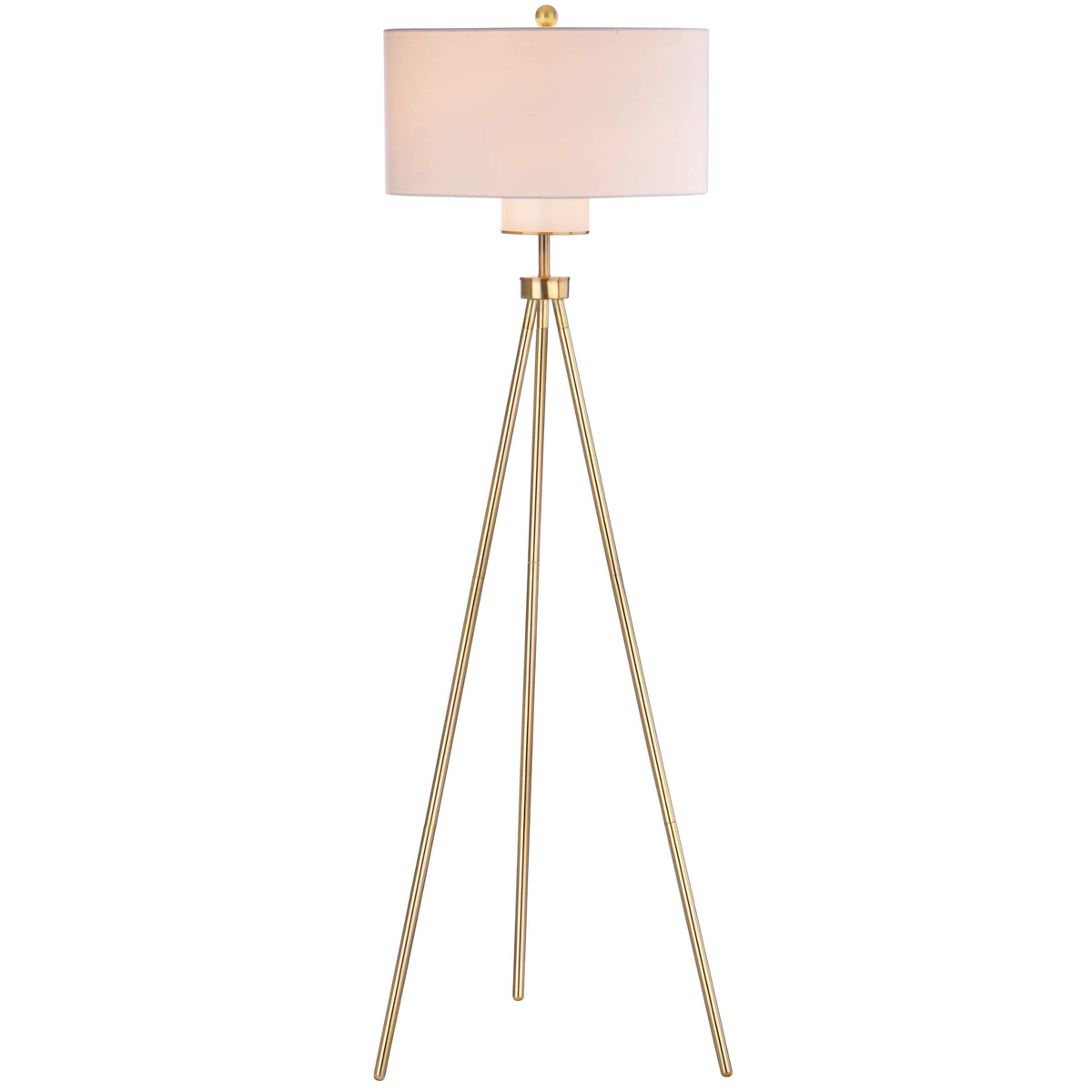Brass Enrica Floor Lamp