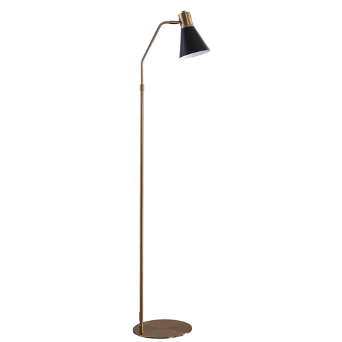 Gold & Black Grania Floor Lamp