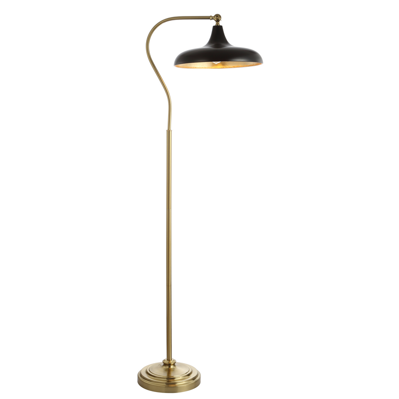Black Stefan Floor Lamp