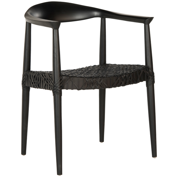 Black Bandelier Arm Chair