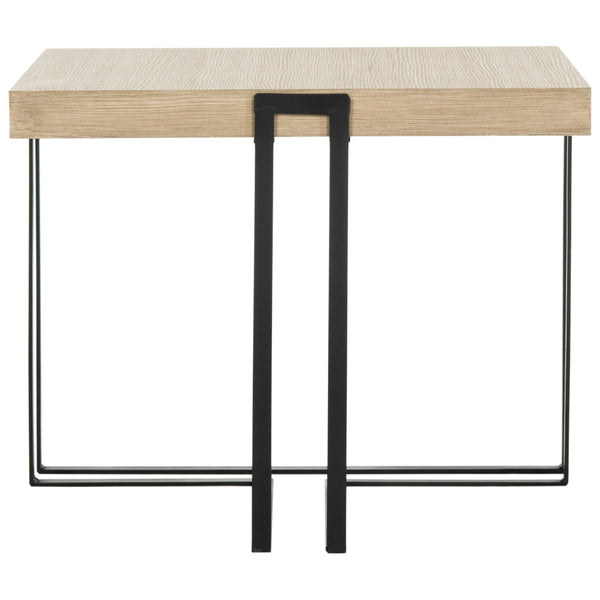 Light Grey Pitt End Table