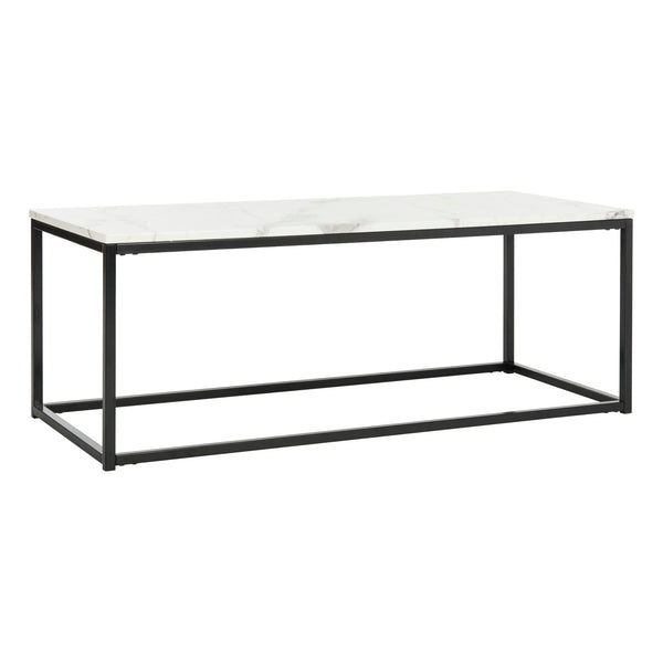White & Grey Baize Coffee Table