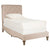 Taupe Hathaway Twin Bed