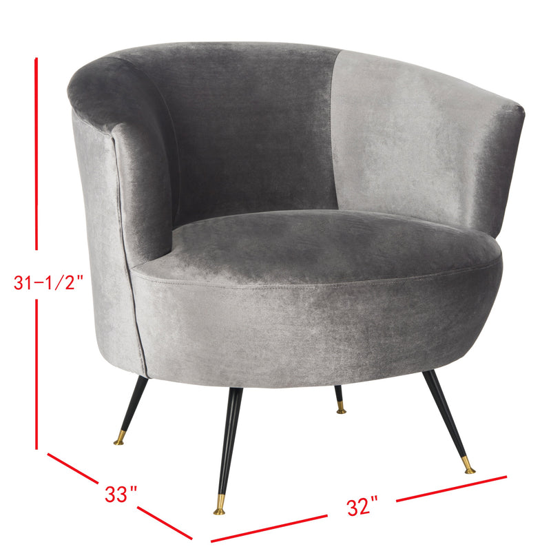 Grey Arlette Accent Chair
