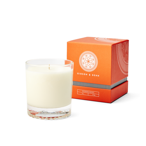 Rhubarb & Quince Single Wick Candle