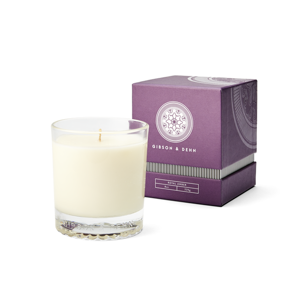 Royal Amber Single Wick Candle