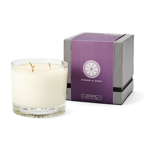 Royal Amber Three Wick Candle