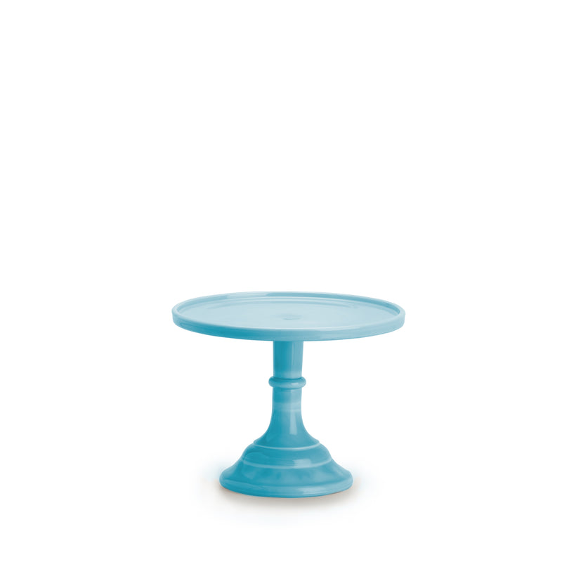 Small Robin's Egg Blue Cake Stand