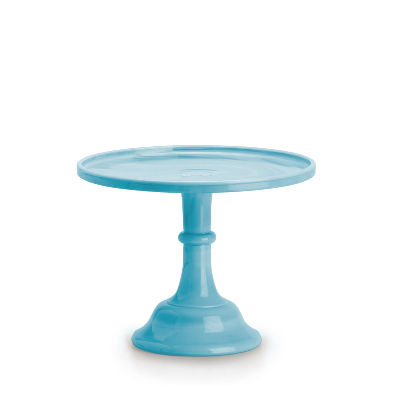 Large Robin's Egg Blue Cake Stand