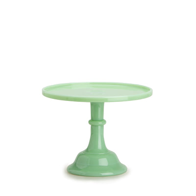 Medium Jadeite Cake Stand