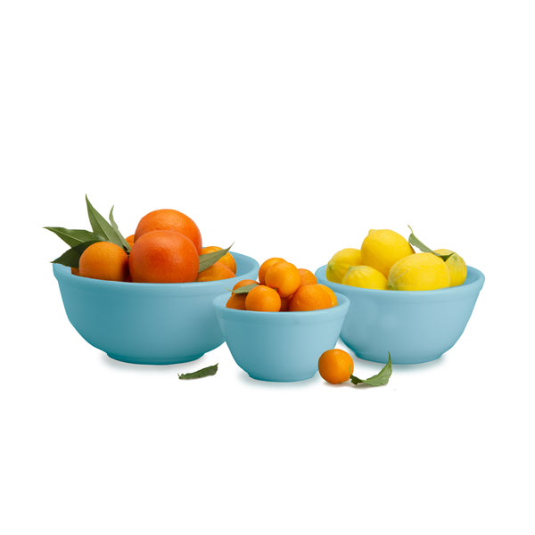 Robin's Egg Blue Mixing Bowl Set