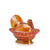 Marigold Small Glass Turkey