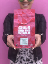 Girls Run the World Coffee Bag