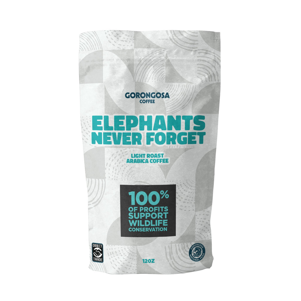 Elephants Never Forget Coffee Bag