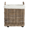 Natural Amari Wheel Basket