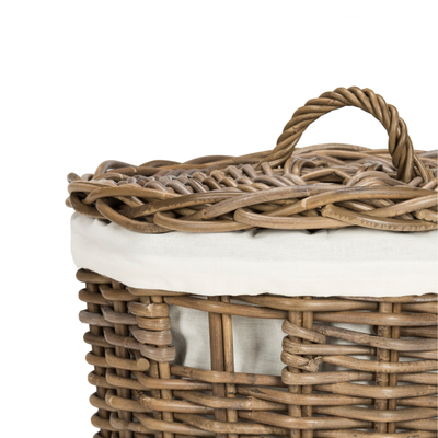 Natural Millen Laundry Basket Set