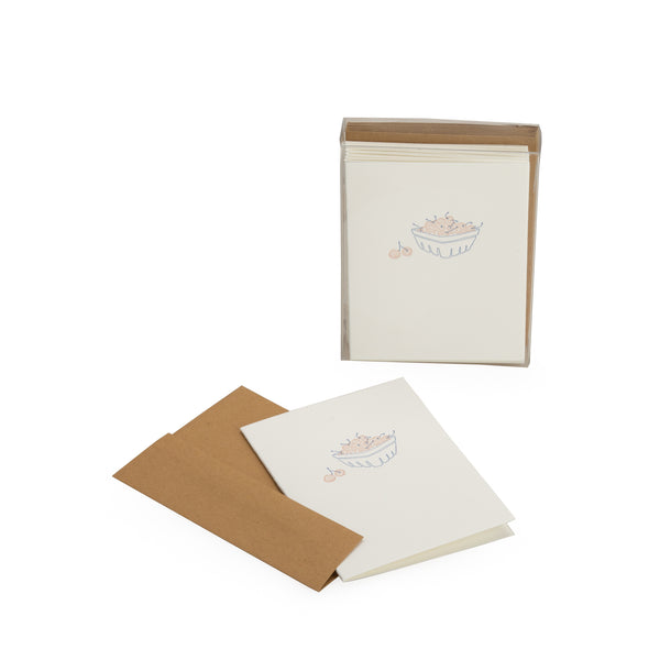 Berry Bunch Blank Note Card Set