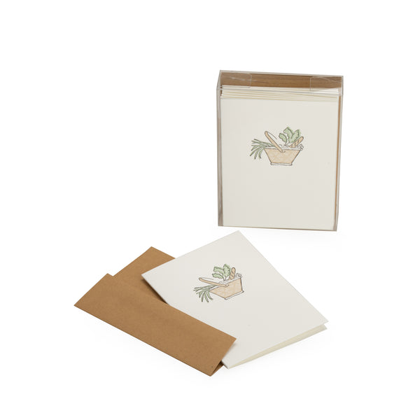 Provisions Blank Note Card Set