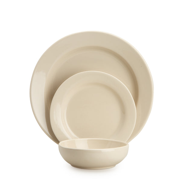 Linen 1973 3-Piece Dinnerware Set