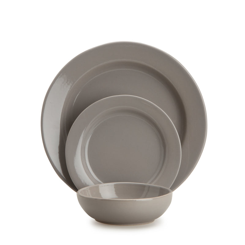 Smoke 1973 3-Piece Dinnerware Set