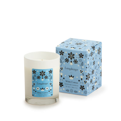 White Cotton Candle