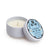 White Cotton Tin Candle