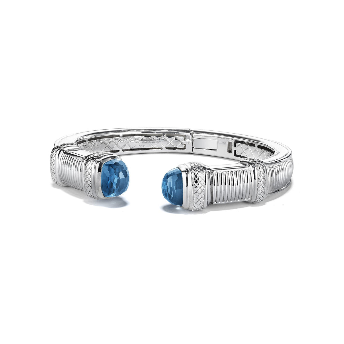 Cassandre Large Bracelet with London Blue Topaz