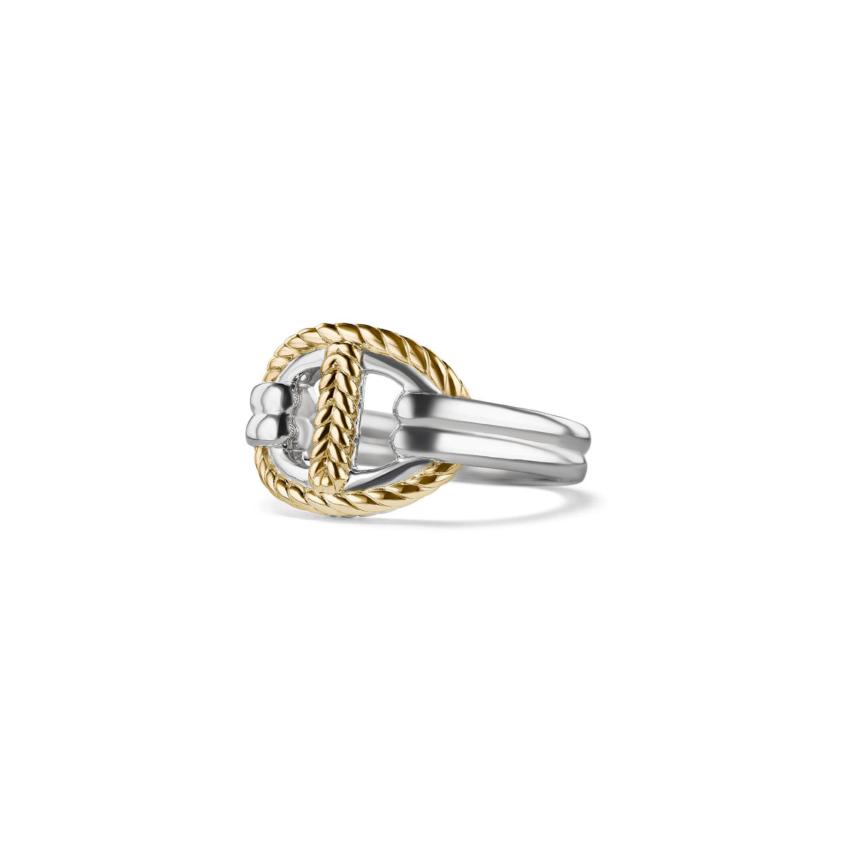 Vienna Single Link Ring with 18K Gold