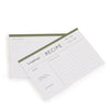 Recipe Cards Set of 50