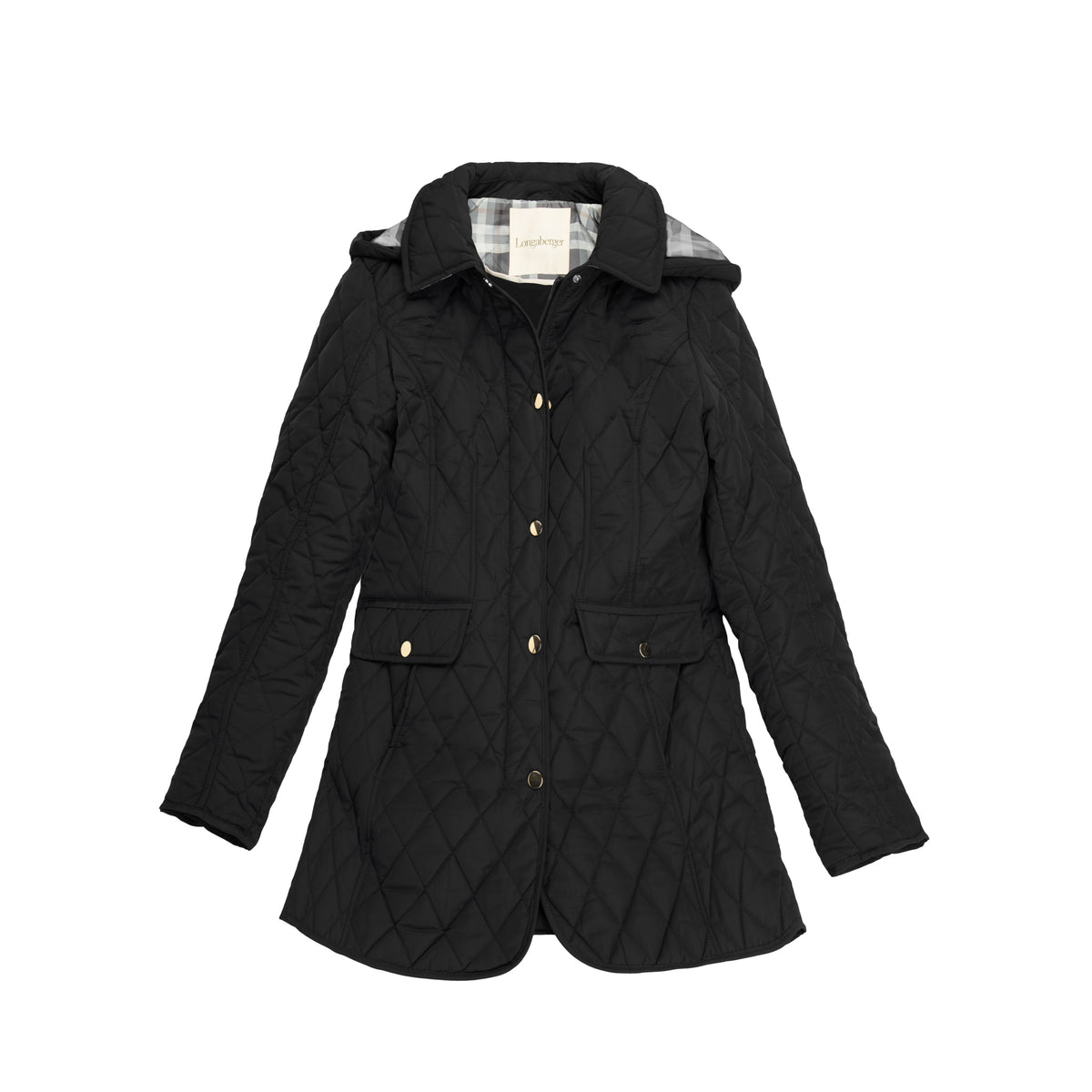 Black Diamond Quilted Barn Jacket
