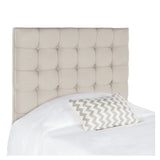 Taupe Lamar Twin Headboard