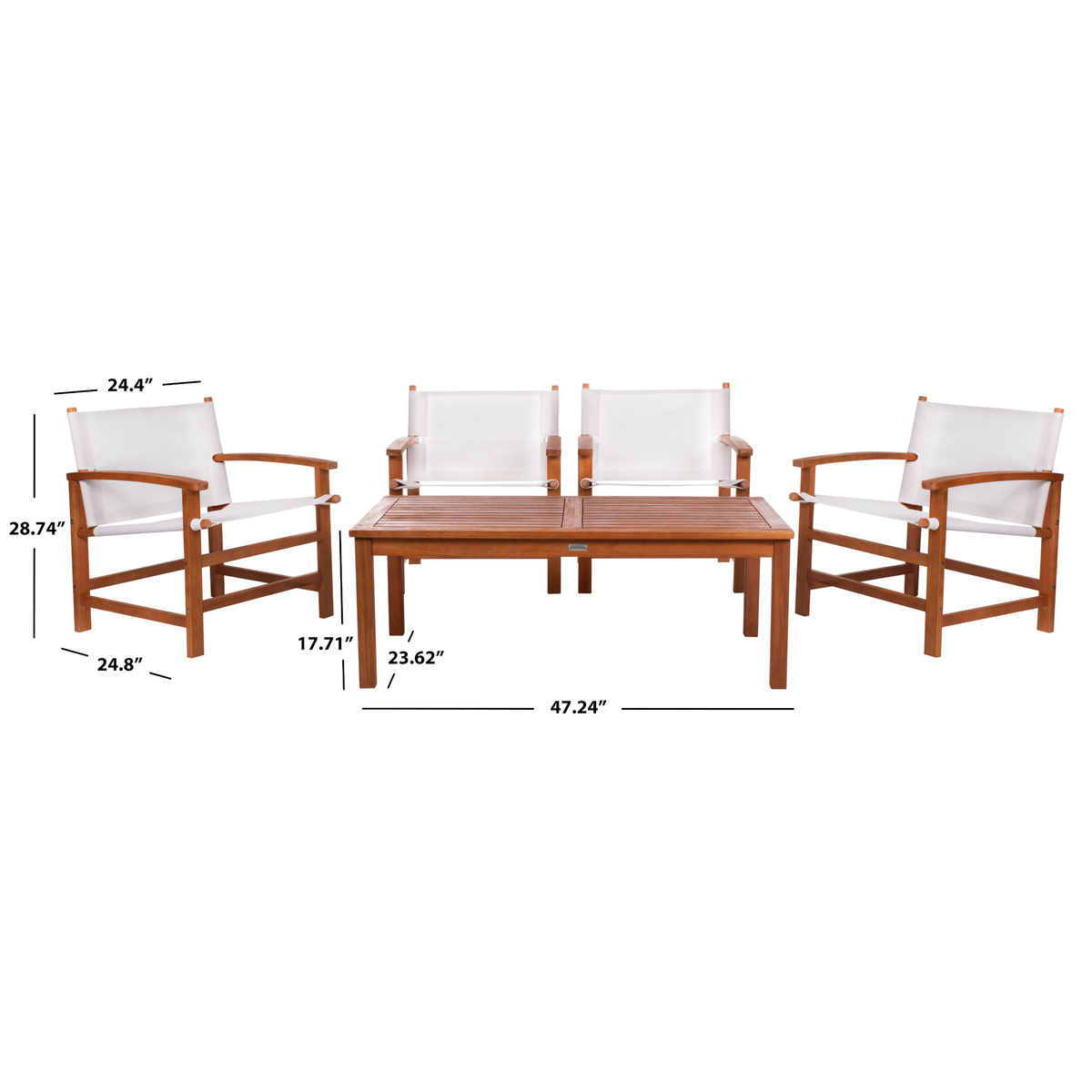 Natural & Beige Mardin Dining Set